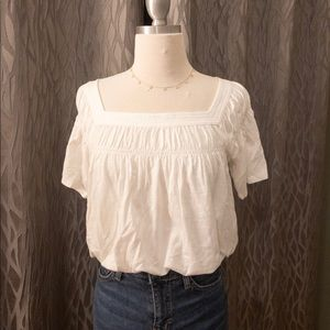 Anthropologie Relaxed Fit Tee. XS. NWT.